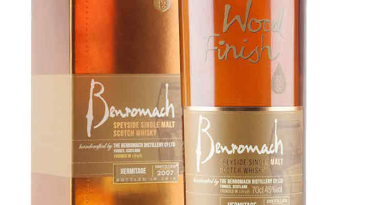 Benromach 2007 Hermitage Wood Finish - Bottled 2016 £39.36