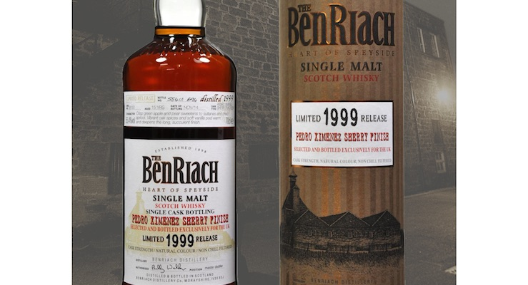 BenRiach / 15 Year Old PX Sherry Puncheon Cask #9150 £64.45