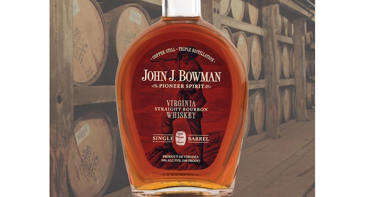 A Smith Bowman Distillery / John J Bowmans Single Barrel Bourbon £75.00