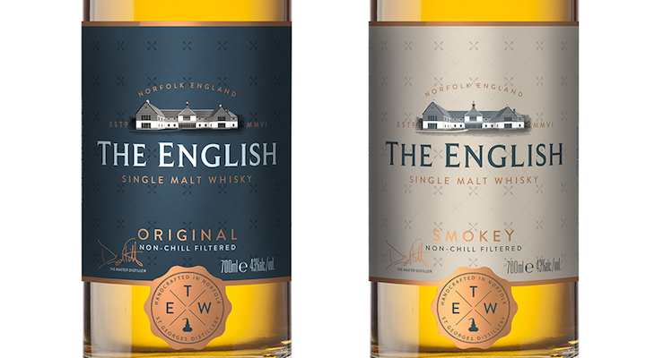 striking new packaging and introduces 'Original' and 'Smokey' branded as The English