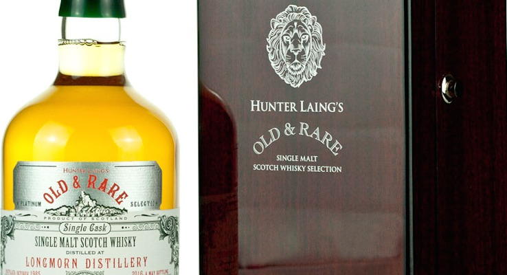 Longmorn / Hunter Laing 30 Year Old £285.00