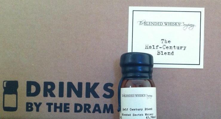The Blended Whisky Company unveils The Half-Century Blend