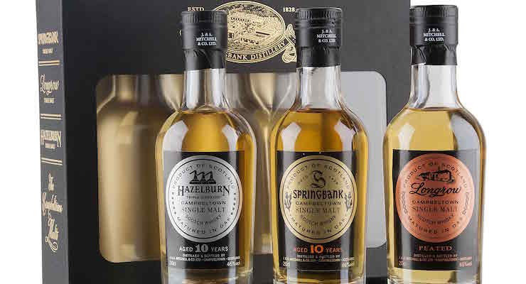 Springbank - The Campbeltown Malts Gift Pack £42.90