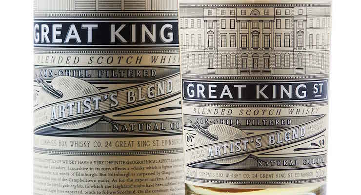 Compass Box Great King Street - Artist's Blend £25.75