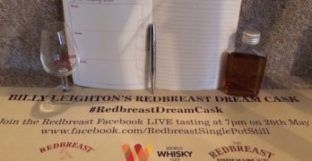BILLY LEIGHTON'S REDBREAST DREAM CASK – An Exclusive Tasting Of A Rare Dram!