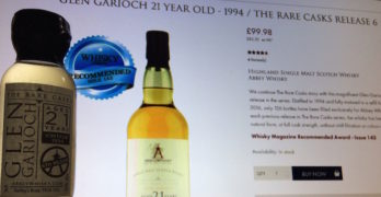 Sampling Abbey Whisky's Glen Garioch 21 Year Old – Why You Will LOVE This Offering!
