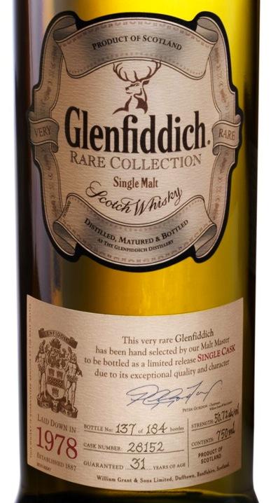 Glenfiddich 1978 Vintage Reserve