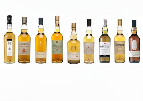 Rare Single Malt Whiskies From Diageo