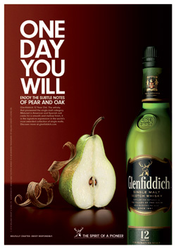 Glenfiddich says One Day You Will