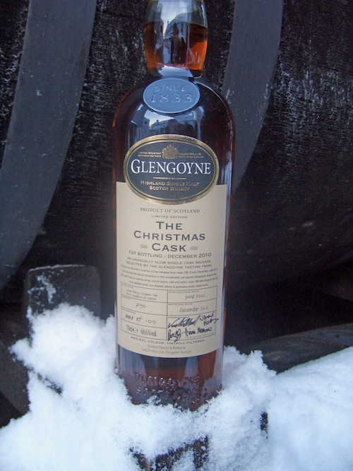 The Glengoyne Christmas Cask 2010