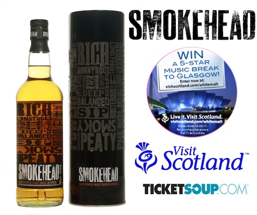 VisitScotland finds Smokehead just the ticket