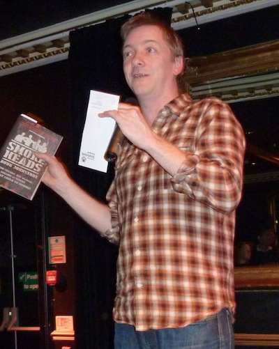 Doug Johnstone reading from his new novel
